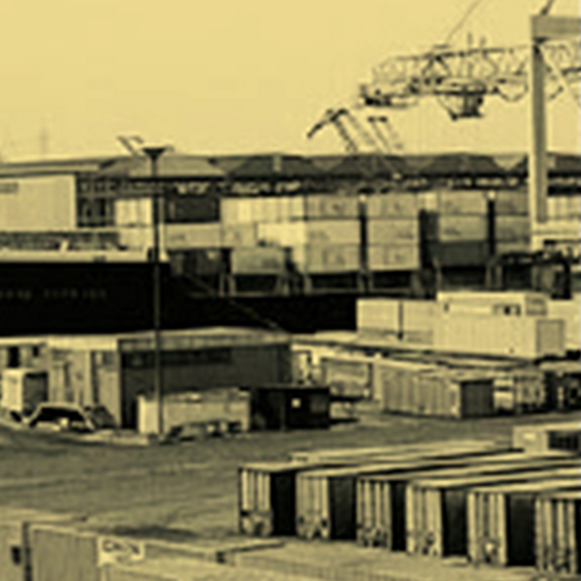 Container Port 1980